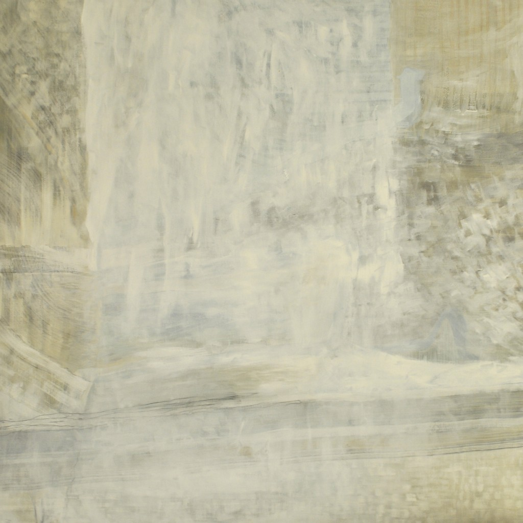 Landscape 2 - 150 x 150 cm - acrylic and oil on canvas -  2001 / 2011